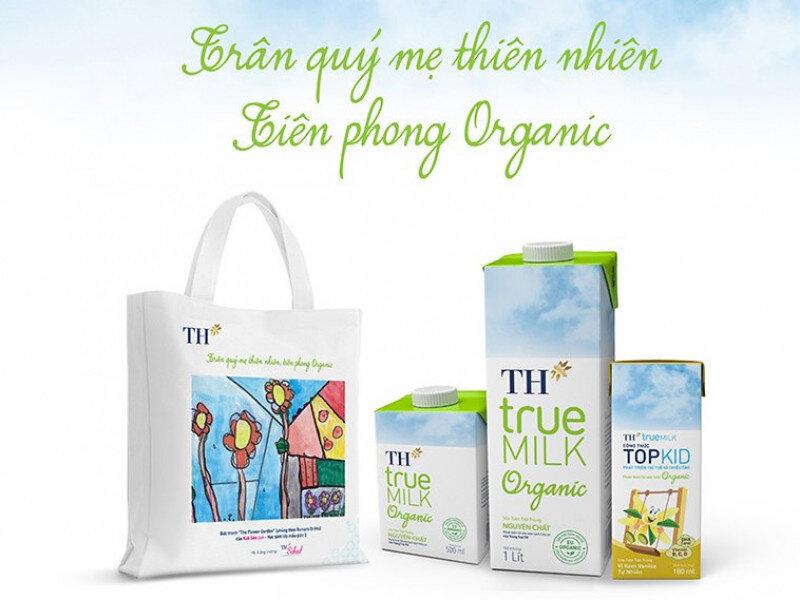 Sữa Topkid Organic - sản phẩm từ thiên nhiên nguyên chất cho trẻ nguồn dưỡng chất dồi dào