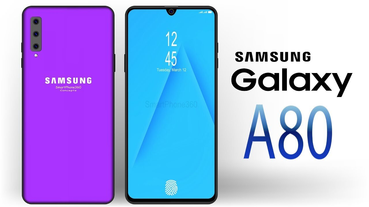 A80 thuộc danh sách các loại điện thoại Samsung 2 sim tốt nhất
