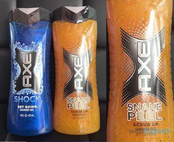 Sữa tắm AXE - Snake Peel Body Wash