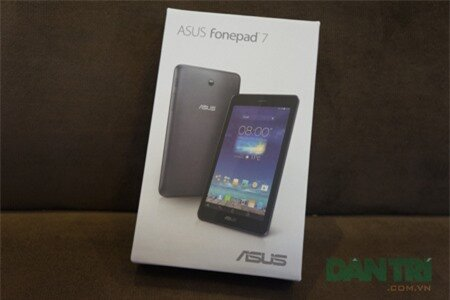Đập hộp Asus FonePad 7 Dual SIM