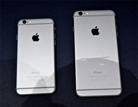 Mặt sau của bộ đôi iPhone 6 thế hệ mới
