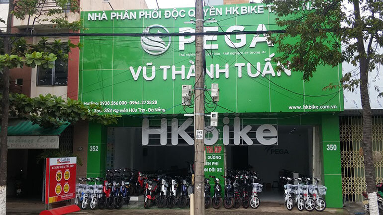 Cửa hàng HKbike Vũ Thành Tuấn tại Đà Nẵng (Nguồn: xedienvuthanhtuan.com.vn)