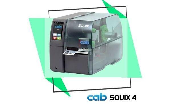 Máy in mã vạch Cab SQUIX 4