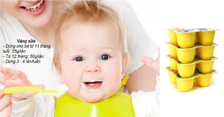 Ăn váng sữa vào lúc nào trong ngày là đúng và giúp con tăng cân, tăng chiều cao vượt trội?