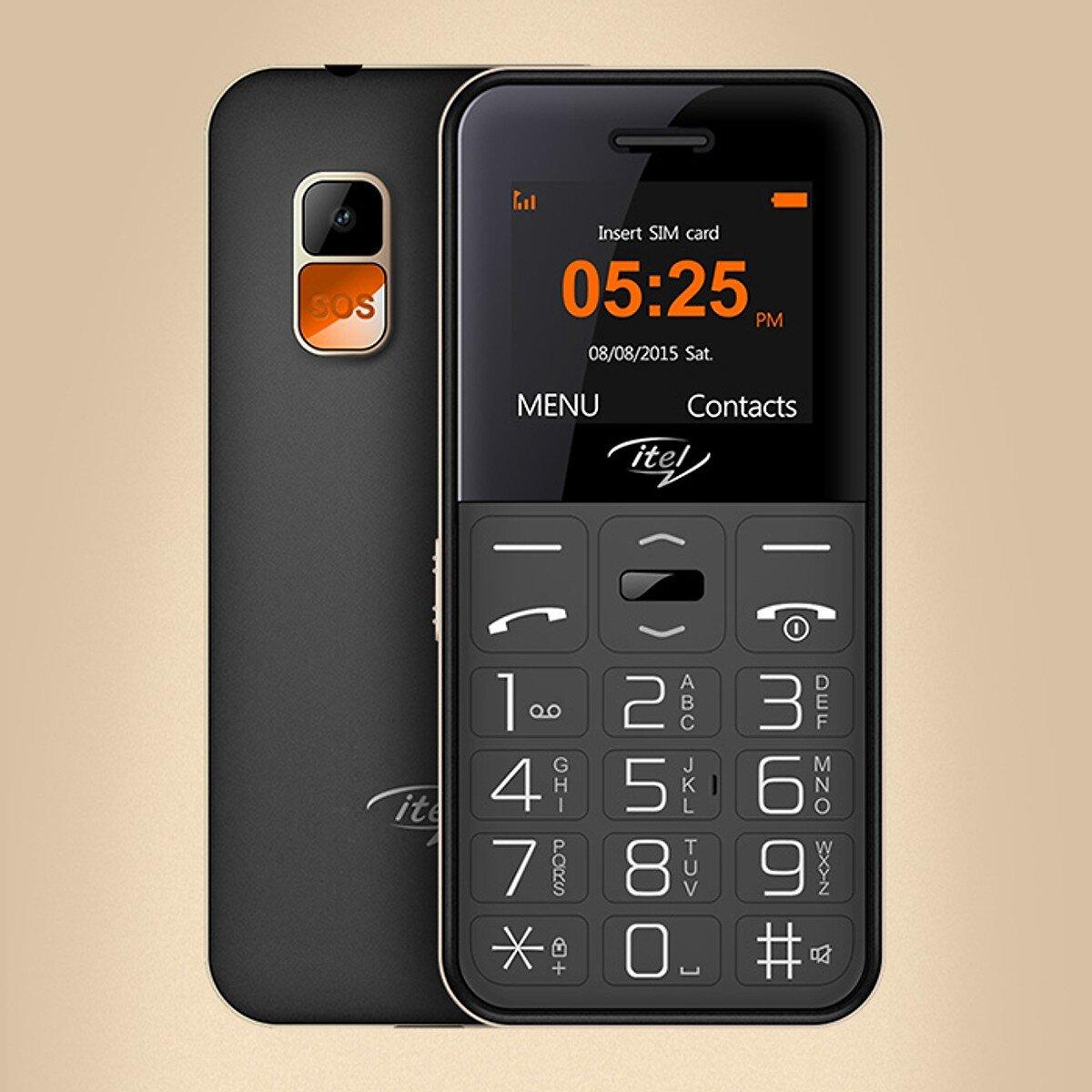 Điện thoại Itel it2580 2 SIM rất phù hợp cho người cao tuổi