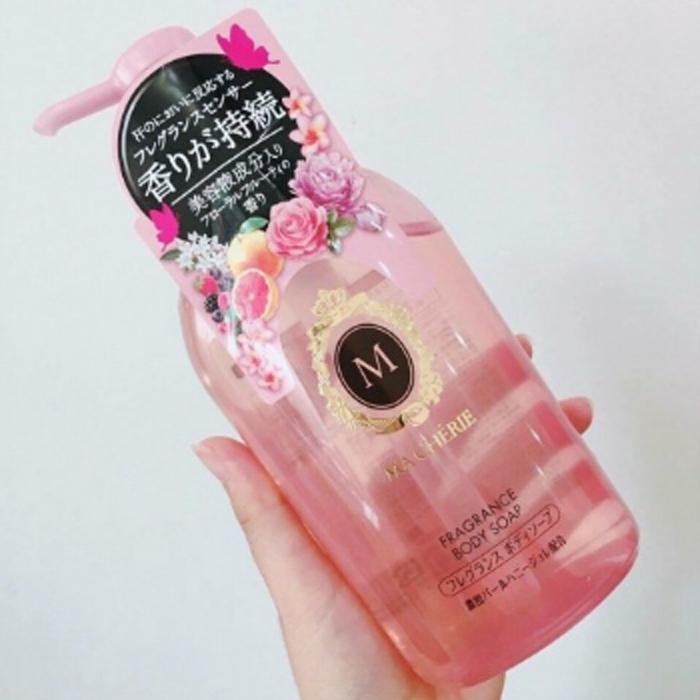 Sữa tắm Shiseido Macherie cho bà bầu