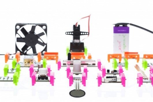 littleBits electronic bricks lets you combine everyday objects with electronics to create ...