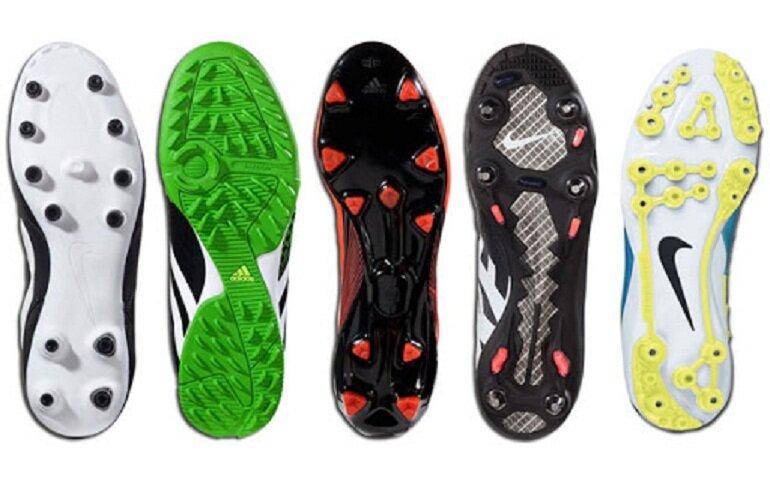 Giày bóng đá có nhiều loại khác nhau