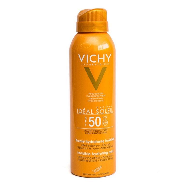 Xịt khoáng chống nắng Vichy Capital Soleil