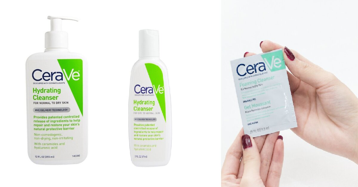 Review sữa rửa mặt Cerave Hydrating Cleanser cho làn da khô, da thường