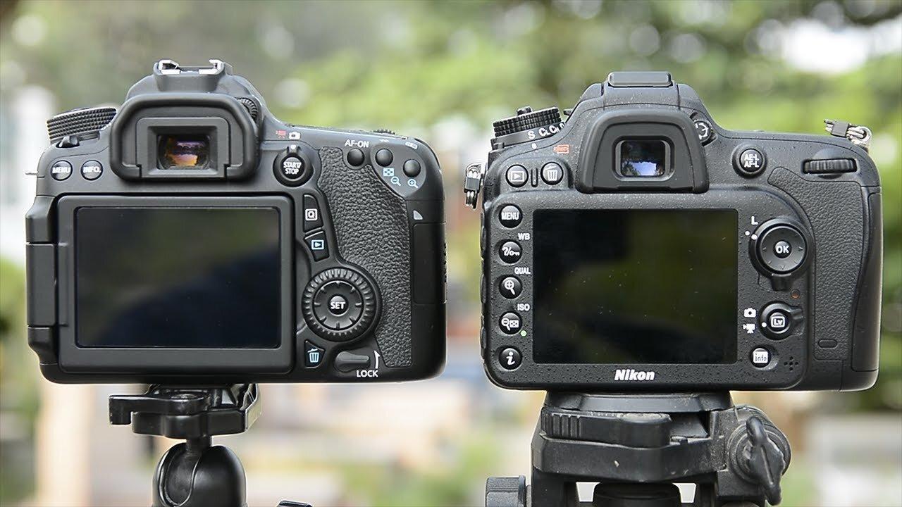 Hình ảnh của Canon mượt và nịnh mắt hơn Nikon