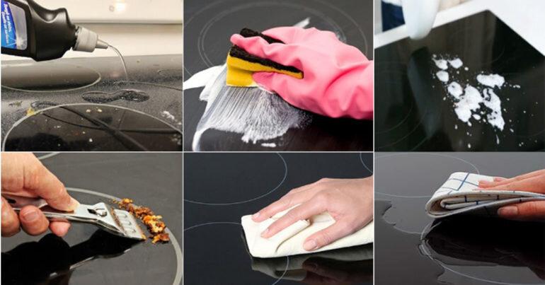 Chia sẻ những cách làm sạch bếp từ đơn giản, nhanh chóng mà hiệu quả tức thì