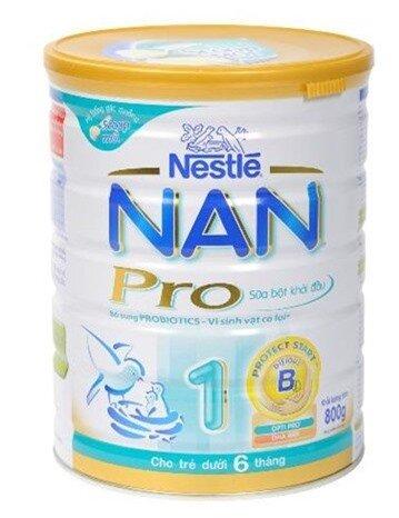 Sữa bột Nestle Nan Pro 1 400g