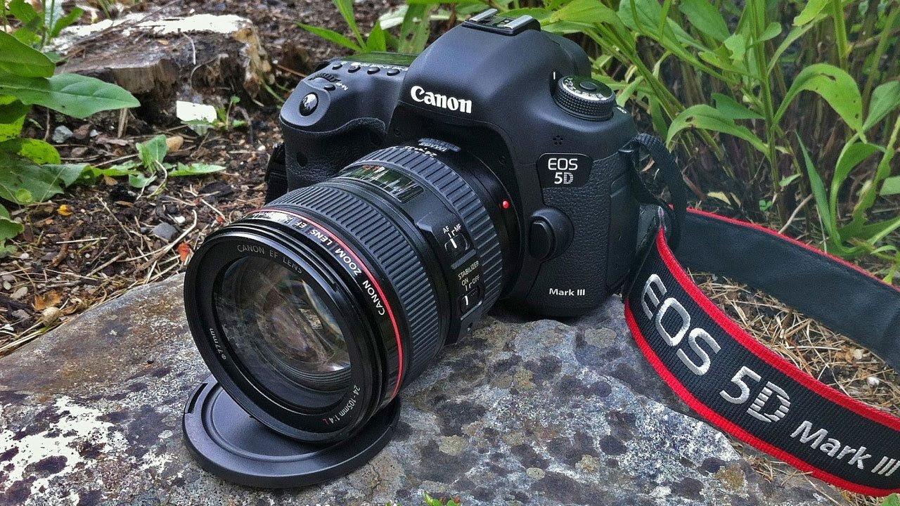 Máy ảnh DSLR Canon 5D Mark III Body hàng chính hãng