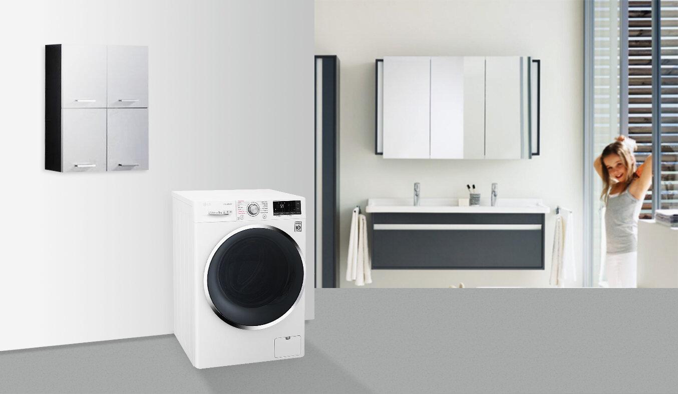 Máy giặt LG FC1409S2W 9kg
