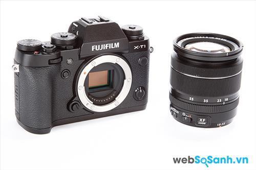 Fujifilm trang bị cho máy ảnh X-T1 của mình cảm biến X-Trans CMOS II kích cỡ 23,6 x 15,6 mm , độ phân giải 16,3Mp