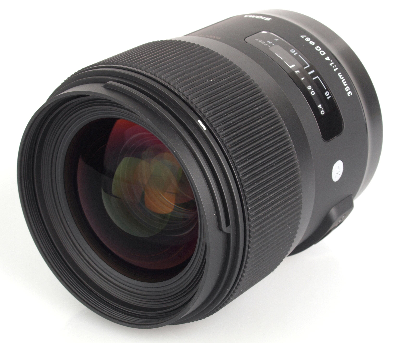 Lens 35mm f / 1.4 DG HSM