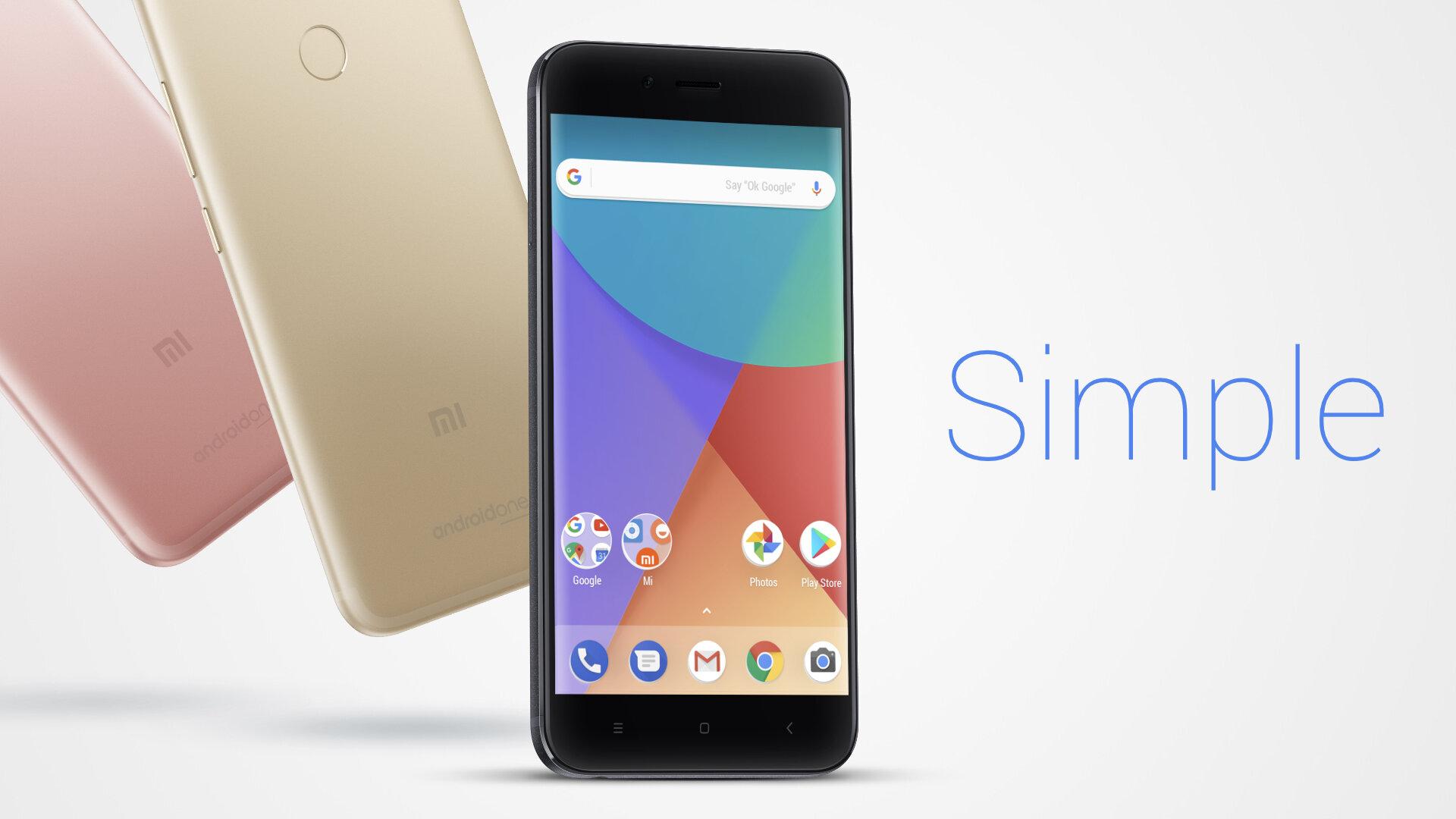 Ra mắt chiếc điện thoại XiaoMi A1 dòng sản phẩm Android One