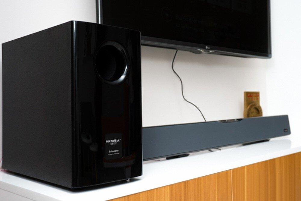 SoundBar SoundMax SB-217 mang lại âm thanh mạnh mẽ và chân thực