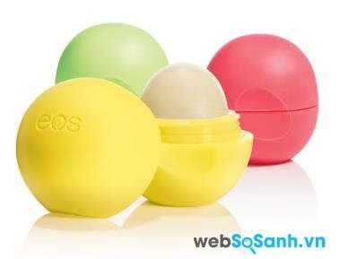 Son trứng EOS Smooth Sphere Lip Balm