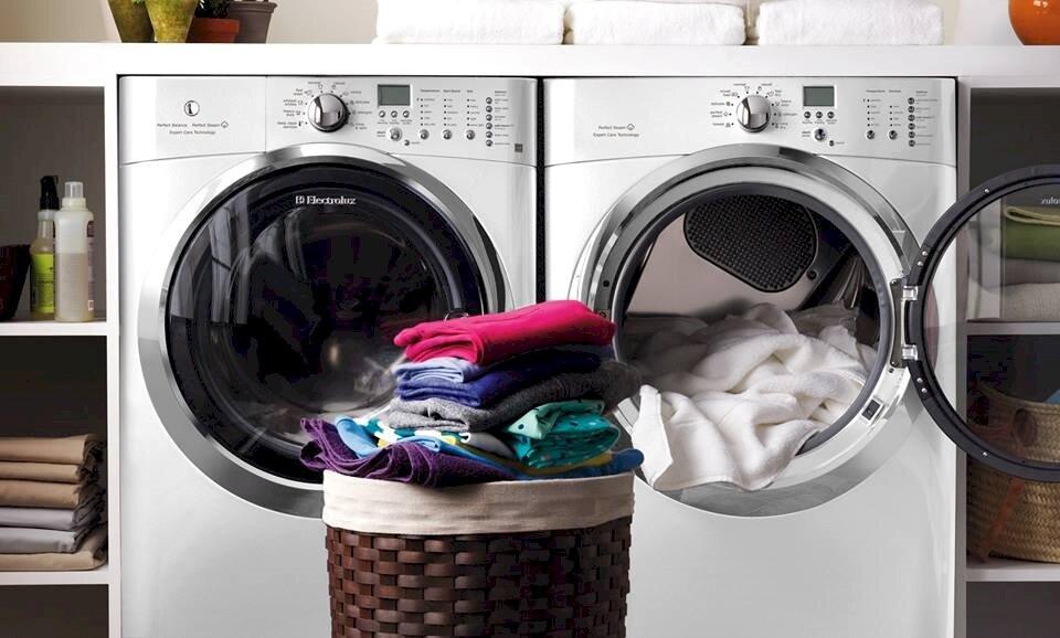 Sử dụng máy giặt tiết kiệm được khá nhiều thời gian