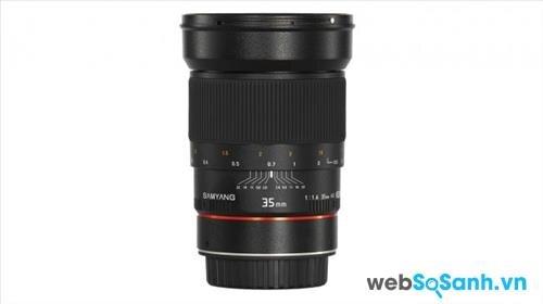 Ống kính Samyang 35mm f/1.4 AS UMC