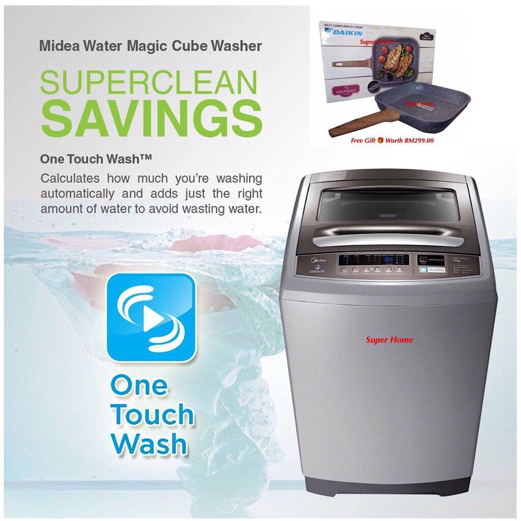 """Thiết kế sang trọng, tinh tế giúp máy giặt Midea dễ dàng """"ghi điểm""""với người tiêu dùng"""