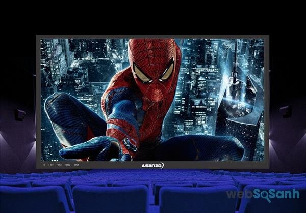 Virtual Surround trên tivi Asanzo