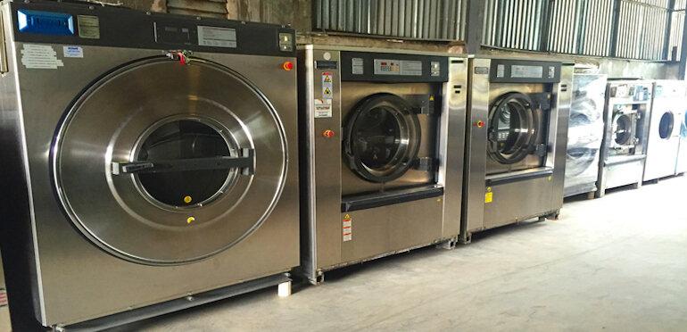 Máy giặt công nghiệp là gì?