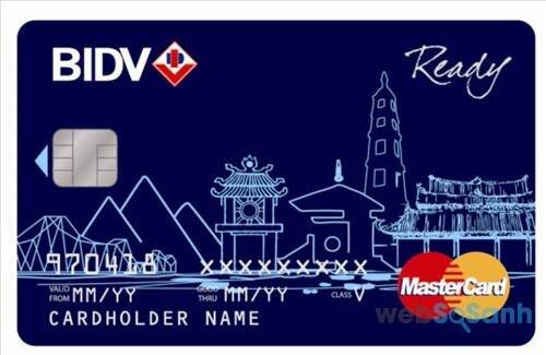 Thẻ Visa Debit ngân hàng BIDV - tốt nhất