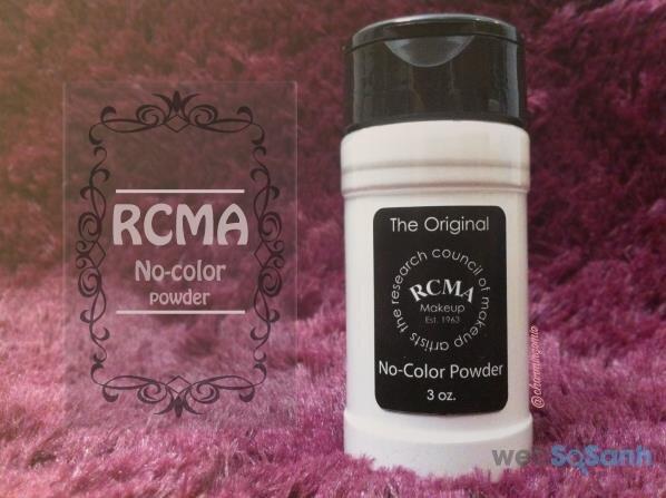 Phấn phủ dạng bột kiềm dầu RCMA No Color Powder