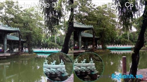 Chụp HDR từ Xperia C5 Ultra và Redmi Note 3