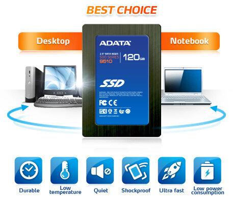 Ổ cứng SSD ADATA S510 120GB (Giá tham khảo: 2.550.000đ)