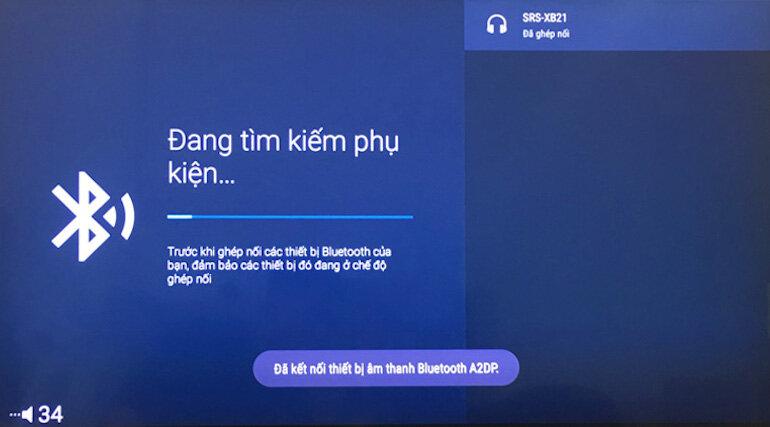 Cách kết nối tivi sony với loa bluetooth vô cùng đơn giản trên tivi