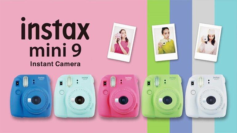 fujifilm instax mini 9 - máy chụp ảnh lấy ngay
