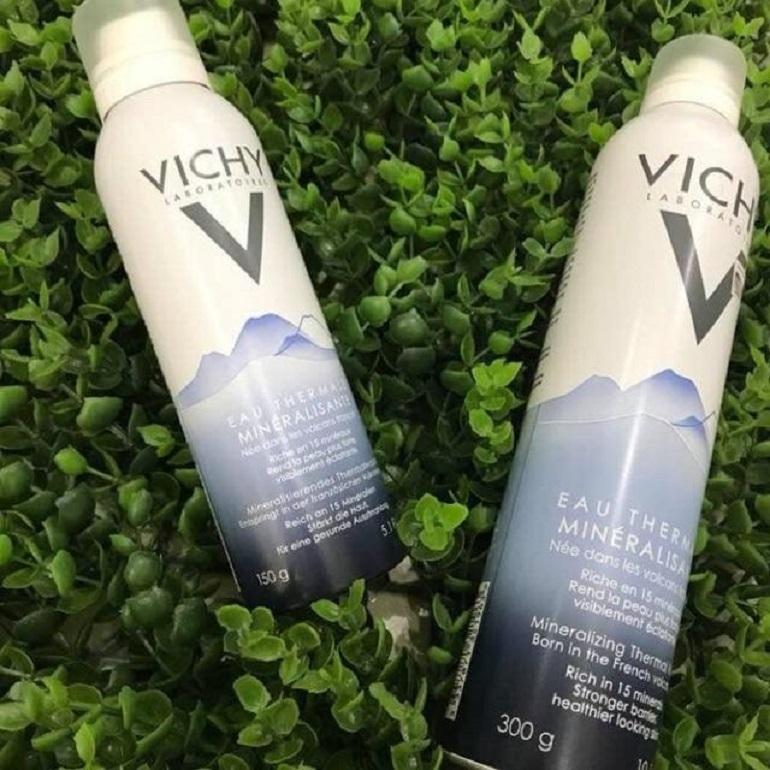 Những điều cần biết về xịt khoáng Vichy