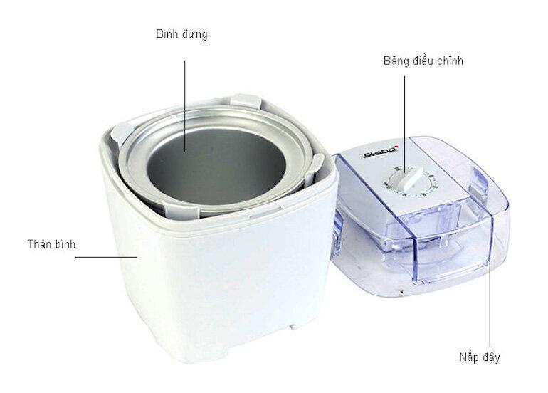 Những đặc điểm nổi bật của máy làm kem Steba IC20