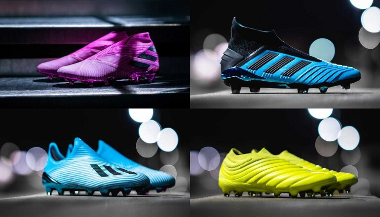 Adidas có rất nhiều dòng giày đá banh khác nhau