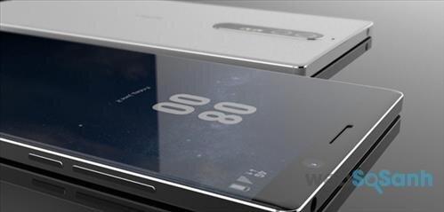 hình ảnh đầu tiên Nokia 8
