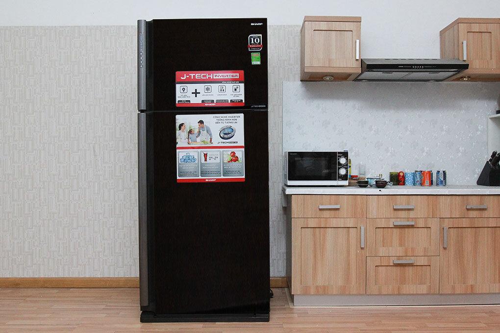 Sản phẩm tủ lạnh sharp SJ-X176E-DSS màu xám lông chuột phù hợp với những không gian nội thất sang trọng