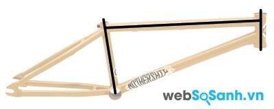 Chọn xe đạp BMX có kích thước phù hợp