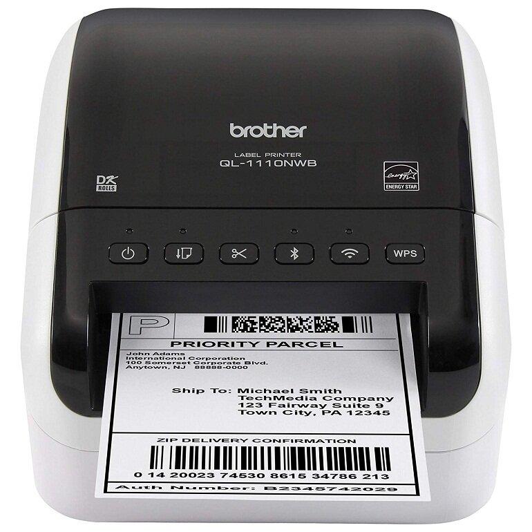 Máy in hóa đơn shopee Brother QL-1110NWB