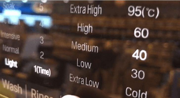 Tính năng vắt trên máy giặt LG F2721HTTV