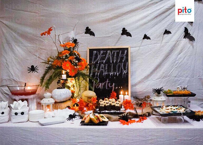 Party đơn giản cho dịp Halloween (Nguồn: pito.vn)