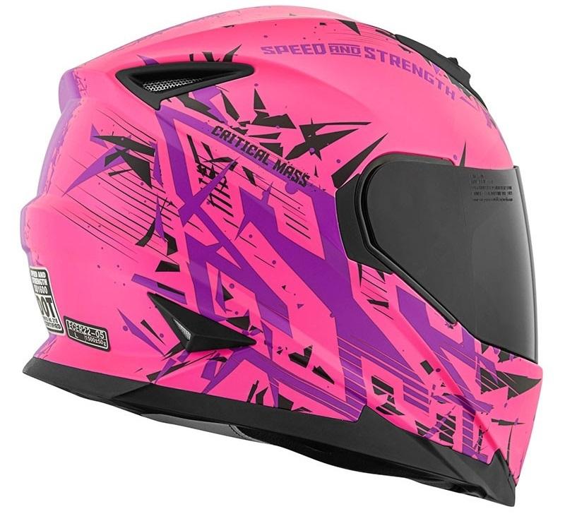 Fullface Speed and Strength SS1600 Critical Mass Tan là người bạn đồng hành của các biker