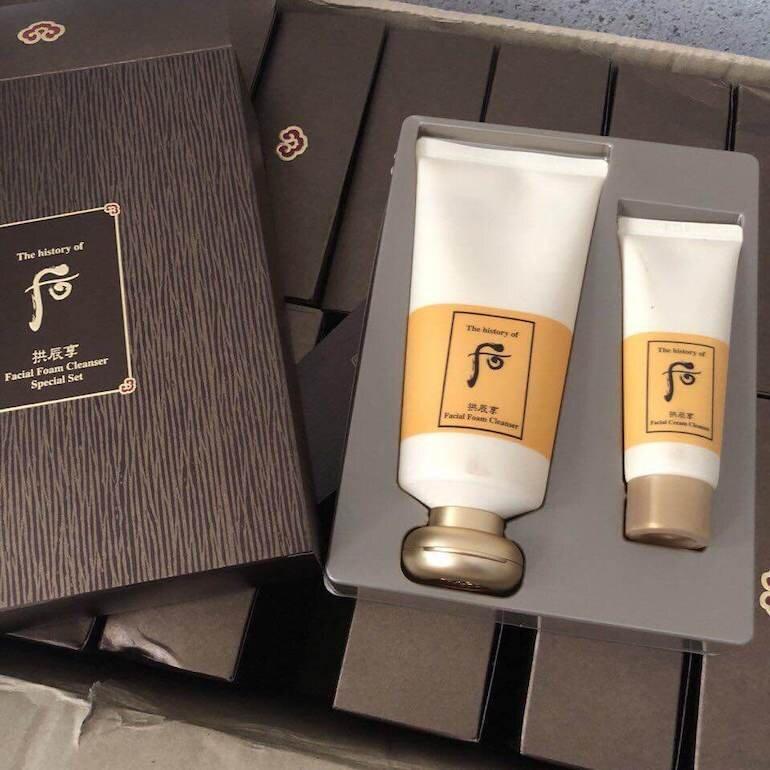 Sữa rửa mặt dưỡng ẩm Gongjinhyang Facial Foam Cleanser
