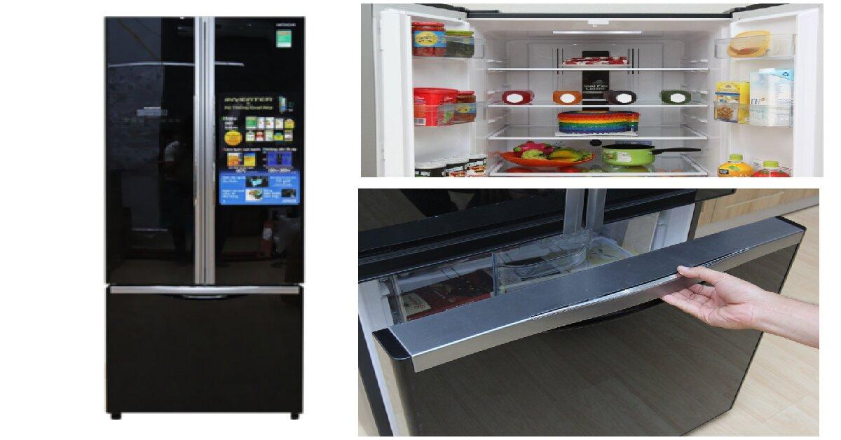 Có nên mua tủ lạnh 3 cánh Hitachi R-WB545PGV2 (GBK) 455 Lít không?