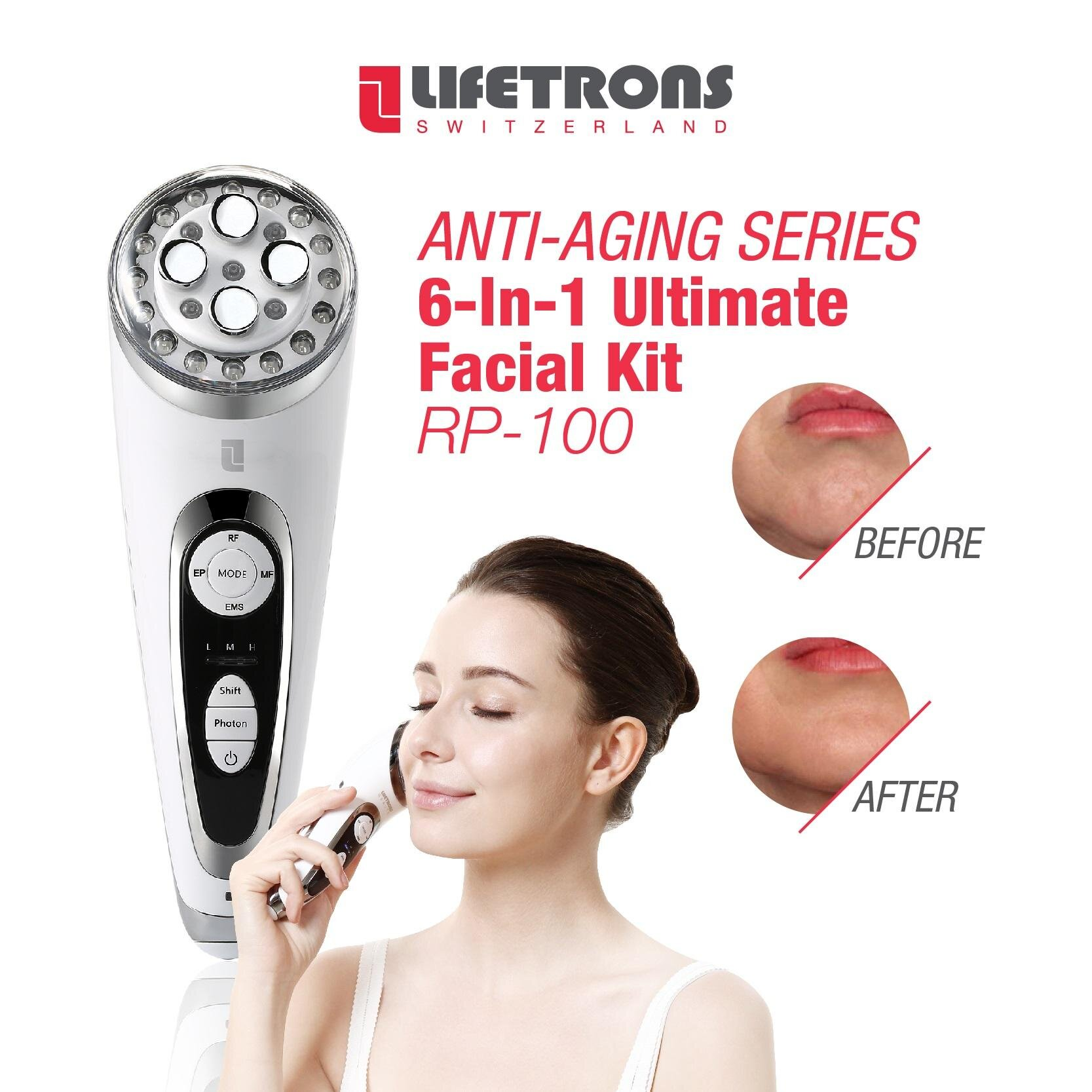 Lifetrons Cleanse & Massage - Facial & Dental Care CM-100