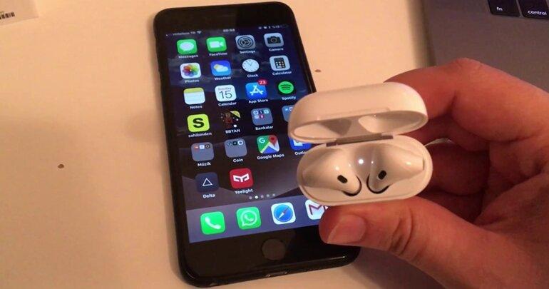 tai nghe airpods không kết nối với iphone