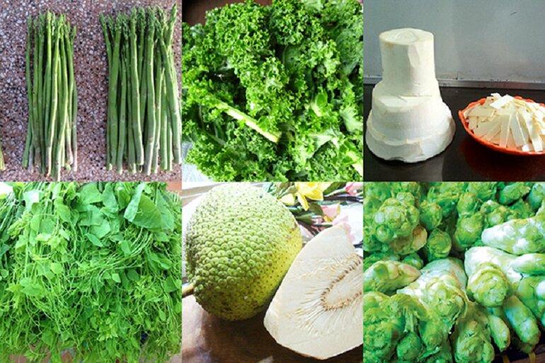 Thực phẩm rau củ sạch tại Dũng Hà